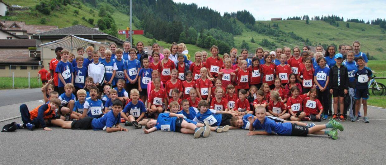 J+S mit 96 Kindern am Jugitag in Rothenthurm